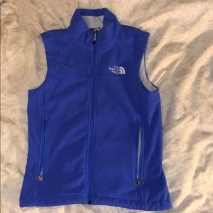 Periwinkle North Face Vest